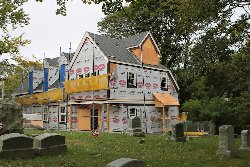 First Church Renovation Progress Picture 1